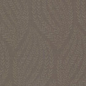 Calix Dark Brown Sienna Leaf Wallpaper