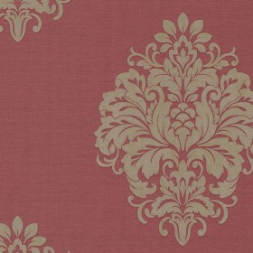 Duchess Red Damask Wallpaper