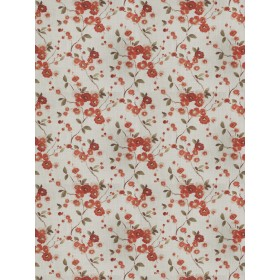 Sway Floral Coral Fabricut Fabric