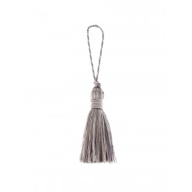 02498 Grey Decorative Tassel