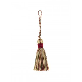 Dazzling 02498 Crimson Decorative Tassel