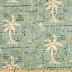 Island Song Surf Waverly Fabric