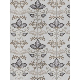 Lens Floral Pewter Fabricut Fabric