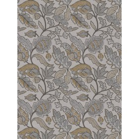 Matinee Floral Taupe Fabricut Fabric