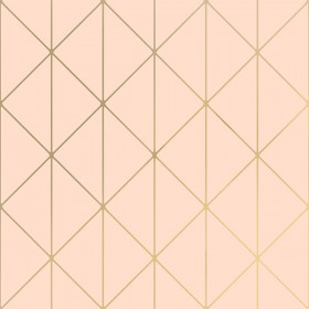 2928-8805 Diamonds Blush Geometric Wallpaper