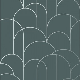 2928-8825 Arch Slate Geometric Wallpaper