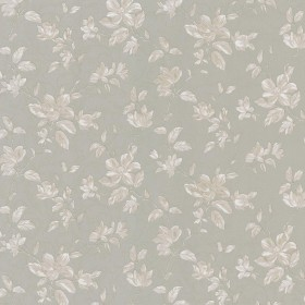 Plumier Taupe Mid Scale Floral Wallpaper