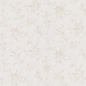 Plumier Pearl Mid Scale Floral Wallpaper
