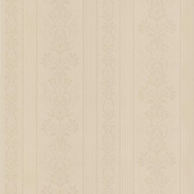 Kensington Neutral Damask Stripe Wallpaper