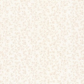 Amanda Beige Floral Trail Wallpaper