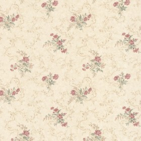 Marie Salmon Delicate Floral Bouquet Wallpaper