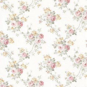 Kristin Salmon Rose Trail Wallpaper