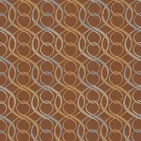 A0318 BLUE BROWN RM Coco Fabric