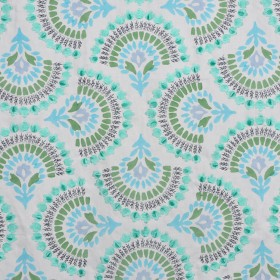 A0489 PEACOCK RM Coco Fabric