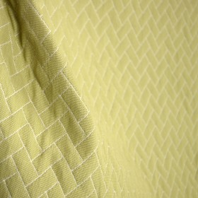 Abaco Dill Canvas Light Olive Green Geometric Matelasse Outdoor Fabric
