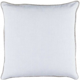 Sasha Pillow with Down Fill in Sky Blue | AH005-1818D