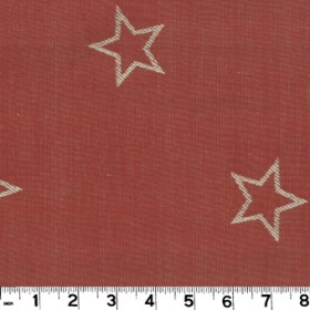 All Star Red Fabric