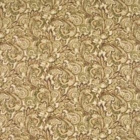 Antiquity Umber Kasmir Fabric