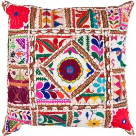 Come Away with Me Tan, Multi-Color Pillow | AR068-1818D