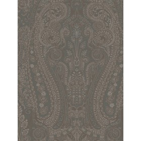 WALLPAPER BY THE YARD AR200543 Brown Teal Blue Coventry Paisley