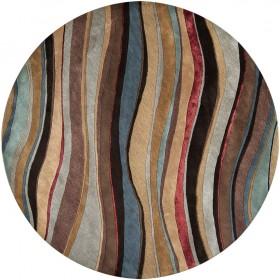 ART229-8RD Surya Rug | Artist Studio Collection