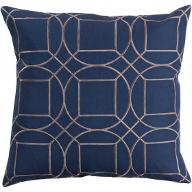 Skyline Pillow with Poly Fill in Cobalt   BA013-2020P