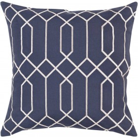 Skyline Pillow with Poly Fill in Slate | BA037-2020P