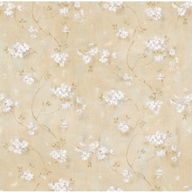 Braham Wheat Country Floral Trail Wallpaper
