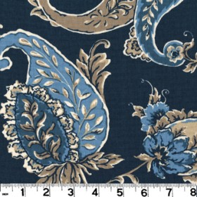 Beacon Hill Cobalt Fabric