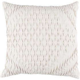 Baker Pillow with Down Fill in Light Gray | BK005-2020D