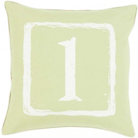 Mike Farrell The One Green, Tan Pillow | BKB042-2020P