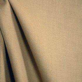 Gold Tan Textured Drapery Fabric