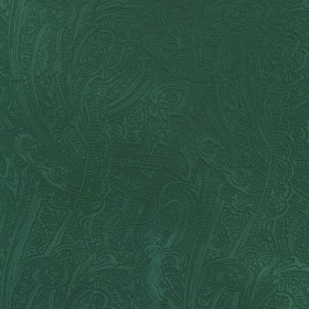 Bungalow Paisley Malachite Kasmir Fabric