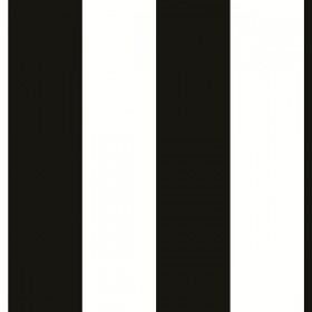 BW28748 2.5 inch Black and White Stripe Wallpaper