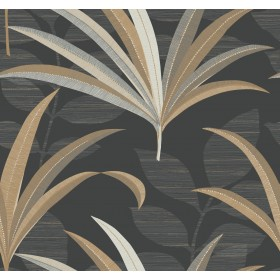 CA1548 Blacks El Morocco Palm Wallpaper