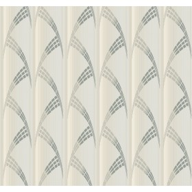 CA1580 White/Off Whites Metropolis Wallpaper