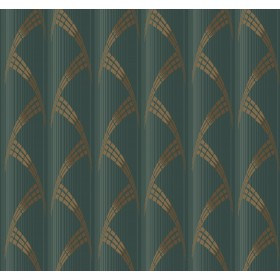 CA1582 Greens Metropolis Wallpaper