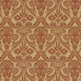 Carriage House Persimmon Kasmir Fabric