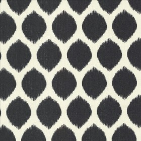 Cool Spot Black Kasmir Fabric