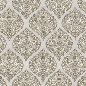 Copa Damask Smoke Kasmir Fabric