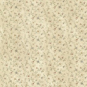 Shelby Rose Calico Floral Wallpaper