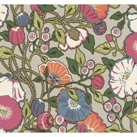 CY1516 Brights Vincent Poppies Wallpaper