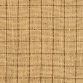 D121 Wheat Checkerboard Fabric by Charlotte Fabrics