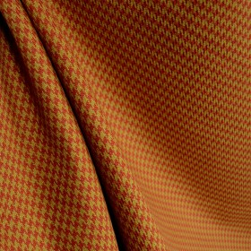 Houndstooth Fabric Terra Cotta