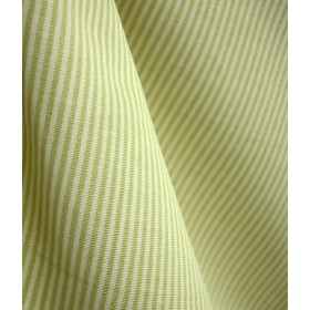 DE68 Essex Sagegrass Stripe Fabric