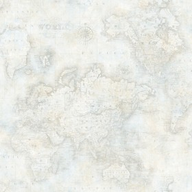 Hardings Grey World Map Wallpaper
