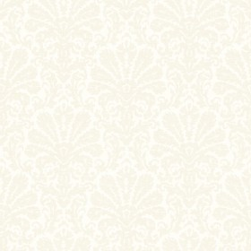 Seascape Grey Damask Wallpaper