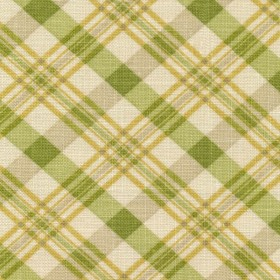 Dolittle Plaid Dill Kasmir Fabric