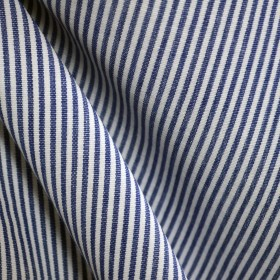 DE06 Essex Royal Stripe Blue Fabric