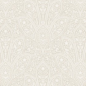 FH37547 Distressed Paisley Wallpaper